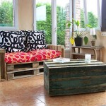 Easy to do pallet sofa