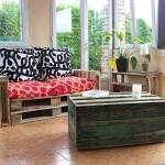Easy to do pallet sofa
