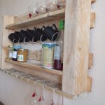 Kitchen shelf for our pallet furniture