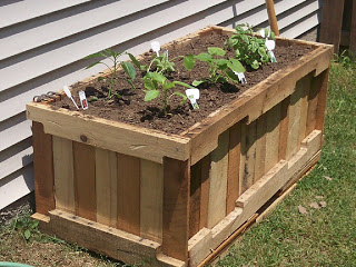 build a garden planter Build a Planter with pallets