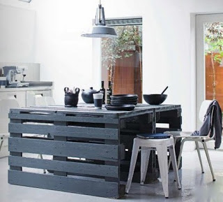easy to do pallet table Easy to build table with wooden pallets