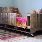 Little pallet bed for your kids