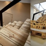 How to build stairs with pallets