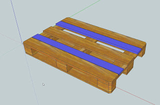 work table pallets 3 Make a workbench for your workshop step by step