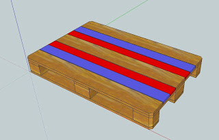 work table pallets 4 Make a workbench for your workshop step by step