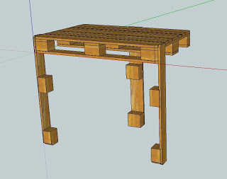 work table pallets 5 Make a workbench for your workshop step by step