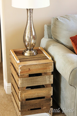 Build a rustic nightstand with recycled wooden palletsDIY Pallet ...