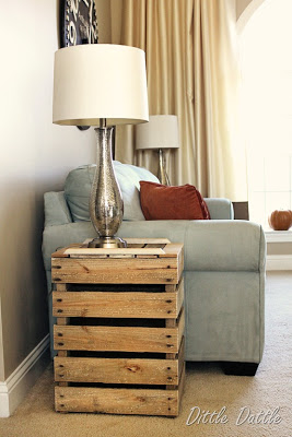 Build a rustic nightstand with recycled wooden pallets_2