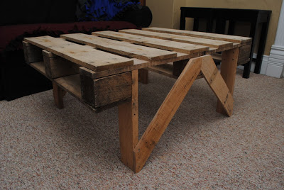 Easy to build coffee table