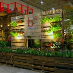 Garden structure made of 100% pallets wood in the Bloom Festival in Toronto