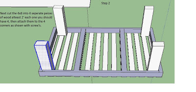 Guide with plans to make a simple DIY table with pallets_2