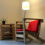 High design style armchairs with pallets
