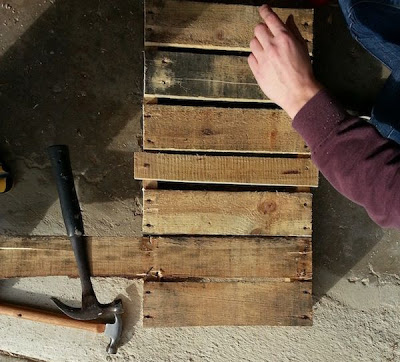 Make your own sled with a wooden pallet_6
