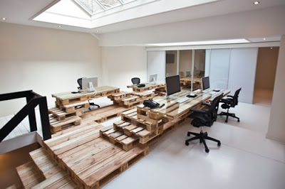 Office fully furnished with super-economical and ecological furniture_2