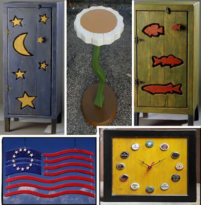 Original crafts made with recycled wooden palletsdiy - Manualidades con palet ...