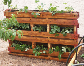Original crafts made with pallets_2