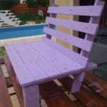 Small chair design for your kids made ​​of wooden pallets
