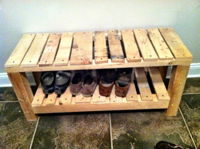 Cheap childrens bedroom made with pallets9