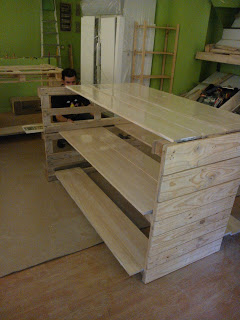 Eco shop all furnished with furniture made of pallets4