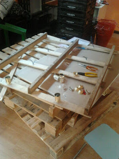Eco shop all furnished with furniture made of pallets6