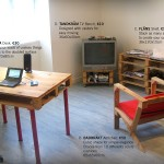 IKEA style furniture made with pallets