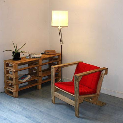 IKEA style furniture made with pallets4