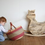 Make a rocking horse with pallets