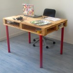 Office desks for our pallet furniture