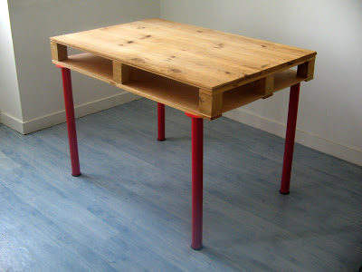 Office Desks for our pallet furniture4