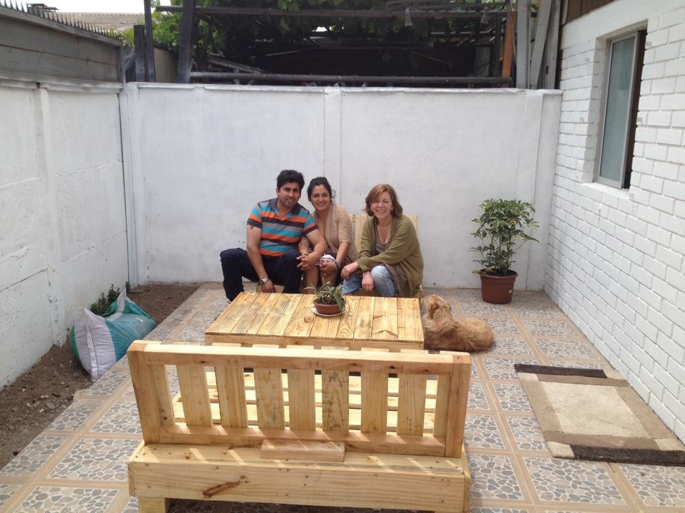 Decoy construcción furniture with recycled pallets4 Decoy construcción furniture with recycled pallets