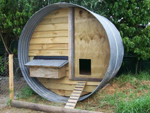 A chicken coop made ​​with pallets2