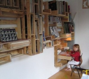 Original ideas made with wooden pallets 3