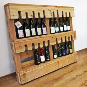 Wine racks ideas made ​​with pallets2