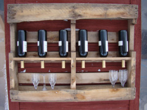 Wine racks ideas made ​​with pallets4