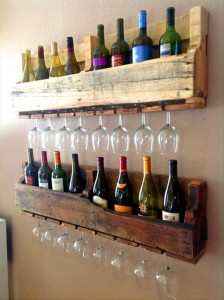 Wine racks ideas made ​​with pallets5