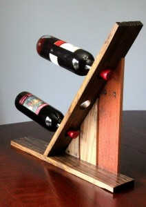 Wine racks ideas made ​​with pallets7