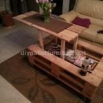 Pneumatic pallet table