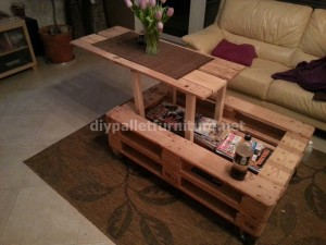 Pneumatic pallet table (2)