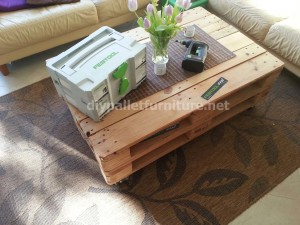 Pneumatic pallet table (5)