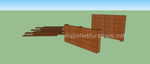Project and plans to build a doghouse ​​with pallets2 300x128 Project and plans to build a doghouse ​​with pallets