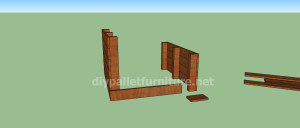 Project and plans to build a doghouse ​​with pallets3