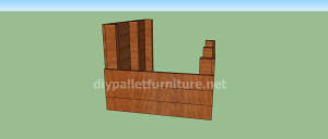 Project and plans to build a doghouse ​​with pallets4 300x128 Project and plans to build a doghouse ​​with pallets