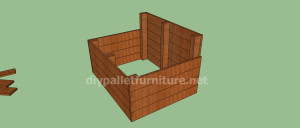 Project and plans to build a doghouse ​​with pallets5