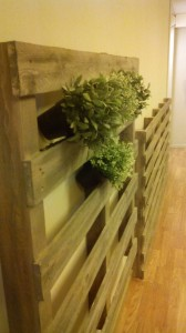 Vertical garden made with pallets5
