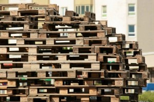 Brodno Theme park built with pallets in Targowek, Warsaw2