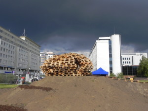 Brodno Theme park built with pallets in Targowek, Warsaw4