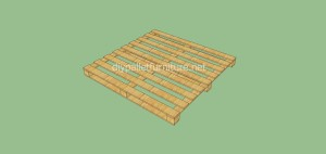 Coat rack easy to do with pallets and plans of the construction process5
