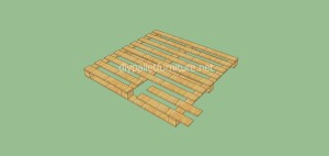 Coat rack easy to do with pallets and plans of the construction process6