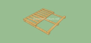 Coat rack easy to do with pallets and plans of the construction process7