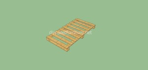 Coat rack easy to do with pallets and plans of the construction process8